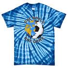 Soccer Italy World Cup One World T-Shirt Jersey Tie Dye Short or Long Sleeve