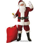 CL592 Regal Regency Plus Santa Suit Christmas Xmas Clause Mens Fancy Costume