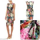 NEW PHASE EIGHT FONTEYN DRESS PRINTED MESH FLORAL SHIFT STRETCH PARTY 6 - 18