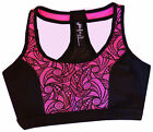 Pro Performance Racerback Activewear Athletic Workout Padded Sports Bra