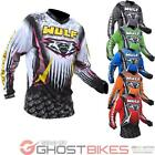 Wulf Arena Adult Motocross Jersey Off Road MX Shirt Wulfsport ATV Enduro Top