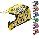 Wulf Cub Flite-Xtra Motocross Helmet Kids Junior Childrens MX ATV Quad Wulfsport