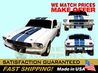1964 1965 1966 1967 1968 Mustang GT Shelby Lemans Rally Stripes Decals Kit