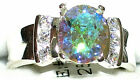 Women's Mercury Mystic & Topaz Sterling 925 Ring  21123