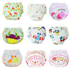 Adorable Cartoon Baby Infant Reusable Washable Traning Pant Cotton Diapers Nappy