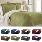 Refael Collection Ultra Plush Sherpa Comforter in Queen and King