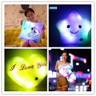 Romantic LED Light Up Glow Pillow Soft Cosy Relax Cushion Stars Christmas Gift