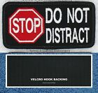1 STOP DO NOT PET DISTRACT SERVICE DOG PATCH 2X4 inch Danny & LuAnns Embroidery
