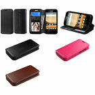 Folio Flip Stand Cover Carrying Case HUAWEI Boost Virgin Mobile Y538 Y-538 Union