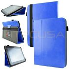 Kozmicc Universal 8.9* 10.1* Inch Adjustable Stand Tablet Folio Case Cover