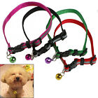 1Pc Soft Fashion Glossy Pet Reflective Buckle Small Dog Puppy Cat Collar Bell