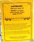 Cambrian C23. BR BBA 75.5t Steel Carrier Wagon Kit.(00)