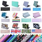 Designer Plastic Hard Shell Case Snap Cover + Keyboard Skin for Macbook Air 13""