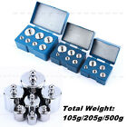 5Pcs/6Pcs/7Pcs/Set Calibration Weight Kit Jewelry 105g 205g 500g Total Weight
