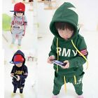 Baby Boys/Girls 2PCS Long Sleeve Tops+Pants Autumn/Winter Outfits Outwear Set