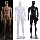ZNL fiberglass Full Body MANNEQUIN+FOOT STAND Male Shop Display Man Dummy White