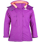Ladies Adidas Performance Hooded Ski Jacket Padded Warm Coat Size  Womens