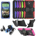 Headphone For Verizon HTC Desire 526 Phone Case Holster Cover Headset Earbuds