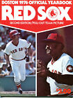 1976 Boston Red Sox Official Yearbook Second Edition Yaz EX NO ML 120515jhe