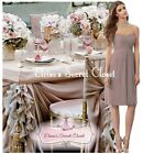 FAYE Taupe Knee Length Strapless Chiffon Bridesmaid Dress UK Sizes 6 - 18