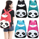 Attractive lady Personality Panda Casual Women School Shoulder Bag Backpack Funn