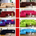 Pure Color Removable Stretch Corner Sofa Slipcover Couch Cover For L-Shaped Sofa