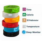 Smart Wristband Bracelet Pedometer Sleep Monitor Fitness Tracker Thermometer