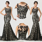 Plus Size Vintage Masquerade Ball Gown Evening Cocktail FORMAL Party Prom Dress