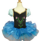 New Girl Cute Princess Ballet Tutu Dancewear Party Dress 2-8Y Kids Leotard Skirt