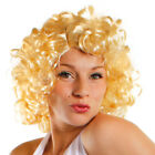 BLONDE 1950S WIG HOLLYWOOD ACTRESS STARLET FANCY DRESS COSTUME WOMENS ACCESSORY