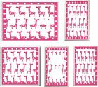 PINK GIRAFFE NURSERY LIGHT SWITCH COVER PLATE  U PICK PLATE SIZE