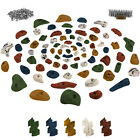 80 Climbing Holds Starter Set Screws + 250 T-Nuts included Climbing Hold Stones