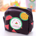 new Creative watermelon square purse coin bag mini money Wallets zipper case