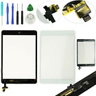 Front Glass Panel Touch Lens Digitizer Screen Home Button Flex for iPad Mini US