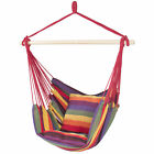 Hammock Hanging Rope Chair Porch Swing Seat Patio Camping Portable Red Stripe cheap
