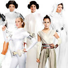 Star Wars Heroines Ladies Fancy Dress Scifi Film Movie Womens Costume Outfits