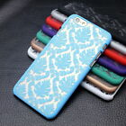 1Pc Vintage Floral Pattern Matte Hard PC Case Cover For iPhone 4S/5S/6S/Plus