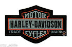 LARGE HARLEY DAVIDSON NOSTALGIC LONG BAR SHIELD VEST PATCH MOTORCYCLE BIKER $16.99 USD