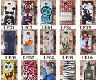 For LG Optimus L90 D405 D410 Tiger Tower Rose Owl Girl Flowers Hard Case Cover