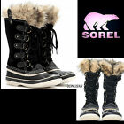 Sorel Joan of Arctic Women's BLACK Winter Snow Boots Size: US:5 NEW
