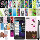 For BlackBerry Z10 NEW TPU SILICONE Rubber SKIN Soft Case Phone Cover + Pen
