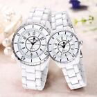 Luxury Men Ladies Watches Ceramic Quartz Couple Unisex Fashion Wristwatch F2w1