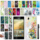 For ZTE Warp Elite Z9518 TPU SILICONE SKIN Soft Protective Case Cover + Pen