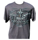Stampede Louder Than A Heartbeat Mustang T-shirt