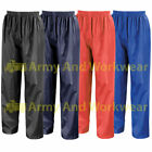 Childrens Kids Breathable Waterproof Rain Over Trousers Play Bottoms Wet Pants