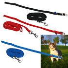 CAT KITTY ADJUSTABLE LEAD COLLAR ELASTICATED BELL KITTEN RABBIT WALKING LEASH