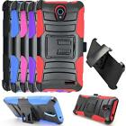 Phone Case For ZTE Avid Plus 4G LTE ( ZTE Ridge ) Holster Rugged Cover Stand