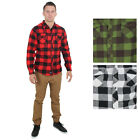 Jordan Craig Men's Long Sleeve Fitted Plaid Flannel Shirt