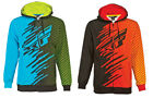 Men's FLY Racing Shock Hoody Full Zip Hooded Sweatshirt Blue/Black or Red/Black
