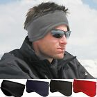 Mens / Ladies Fleece Headband Skiing Snowboard Ear Warmer Hat - Ski Wear Unisex